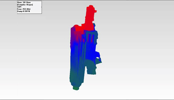 Dynamic Mode Shape Analysis of Milling Head