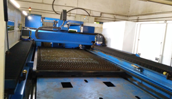 Third Party Inspection of Laser cutting Machine